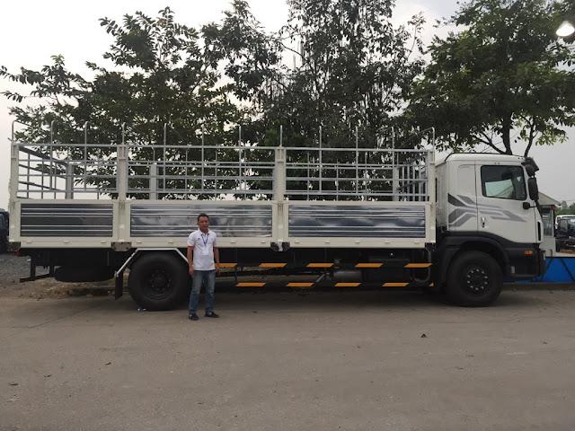 Daewoo 9 tấn Prima thùng bạt