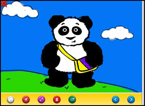 Little Pim App coloring