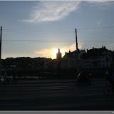 Sonnenuntergang über Luzern