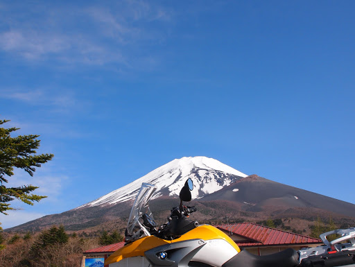 [写真]富士山スカイラインから富士山を望む