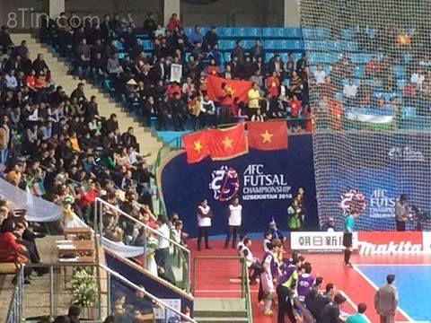 VCK FUTSAL CHÂU Á 2016 Bán kết 2: HT: Việt Nam 17