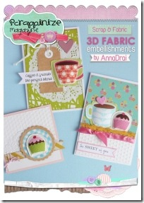 4-scrapbooking - tutorial - abbellimenti stoffa card