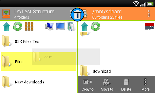 WiFi PC File Explorer- screenshot thumbnail