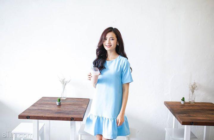 Đầm suông bèo lai _ Blue D50990 CRAZY SALE GIÁ 345.000Đ >>>