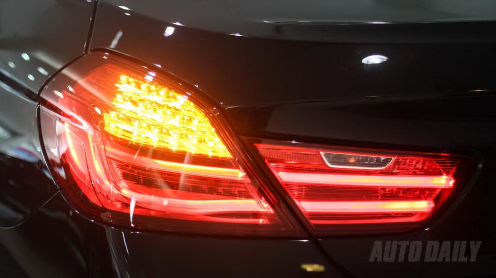 Xe BMW 640i Gran Coupe màu đen 05