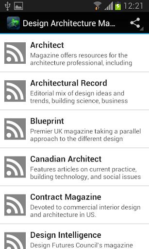 Design Architecture Magazines