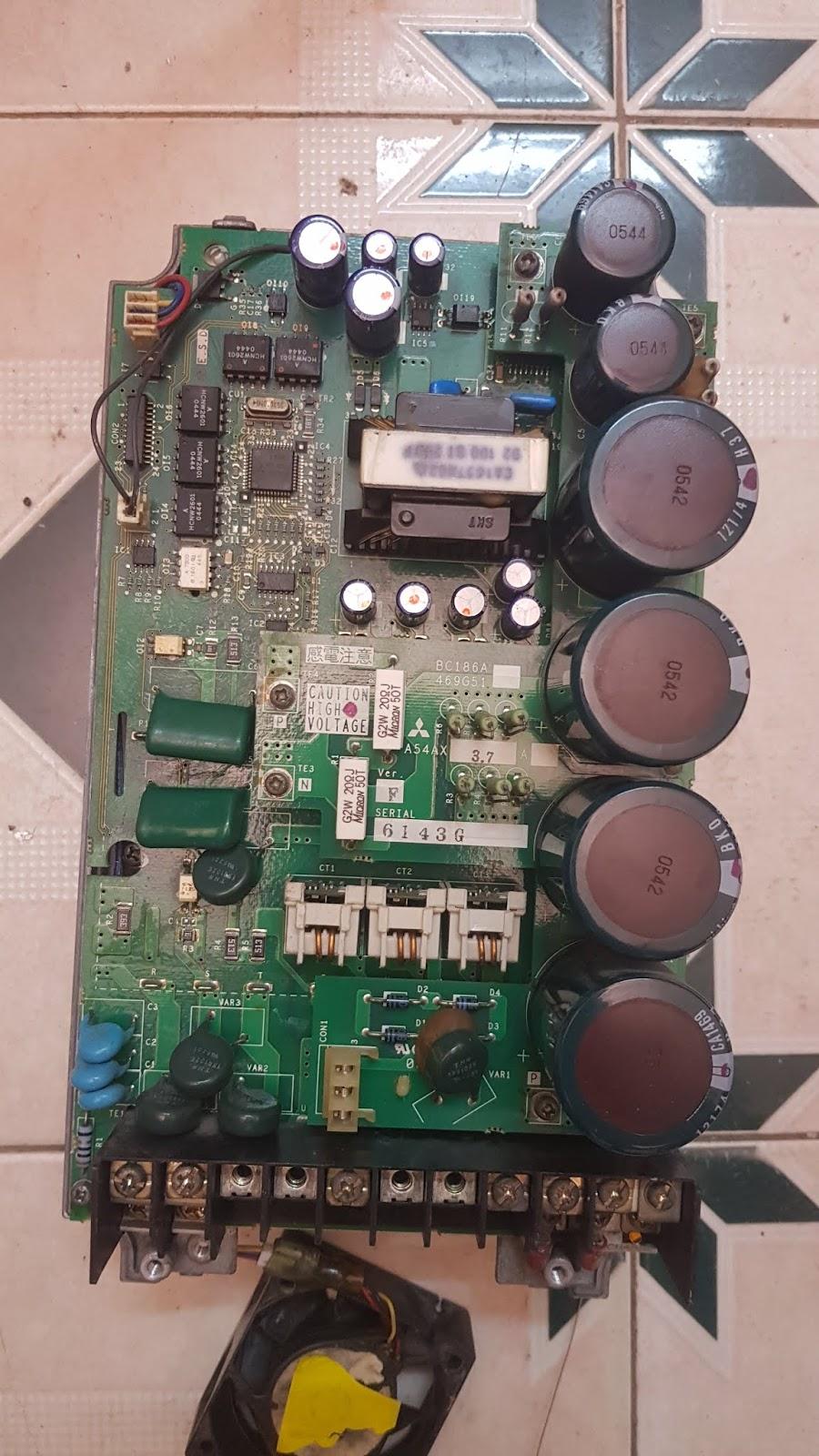Image result for Sửa Bảng mã lỗi Biến tần Emerson(Control technique)