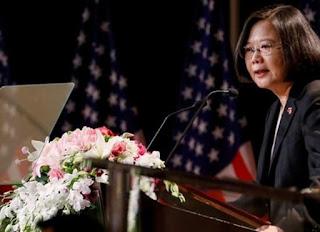 Tổng thống Đài Loan, bà Thái Anh Văn