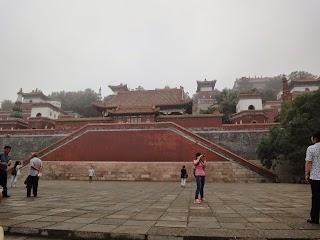 Colline de la Longévité dans le Palais d'été à Beijing