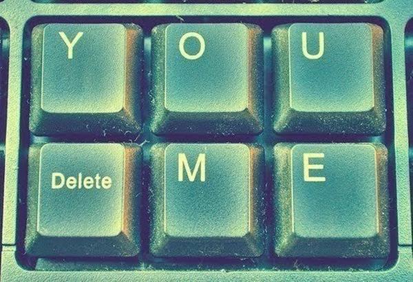 you delete me