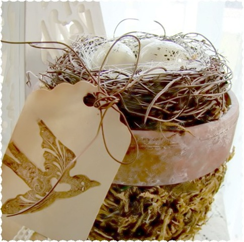 Chic Nest Moss Clay Pot 3