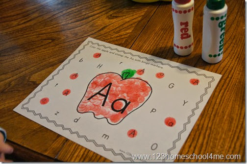 Preschoolers will love these alphabet worksheets
