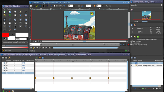 Synfig – Free Vector Based 2D Animation Software