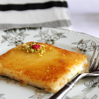 Kunafa with Cream.