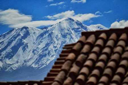Muntii din Peru la Arequipa
