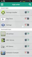 Screenshot of AppLocker