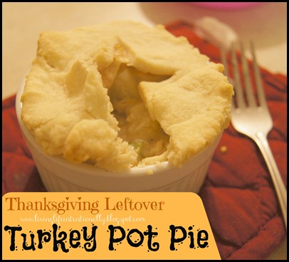 Turkey Pot Pie is a delicious recipe and a great way to use up all that leftover Thanksgiving Turkey #recipes #thanksgiving #turkey