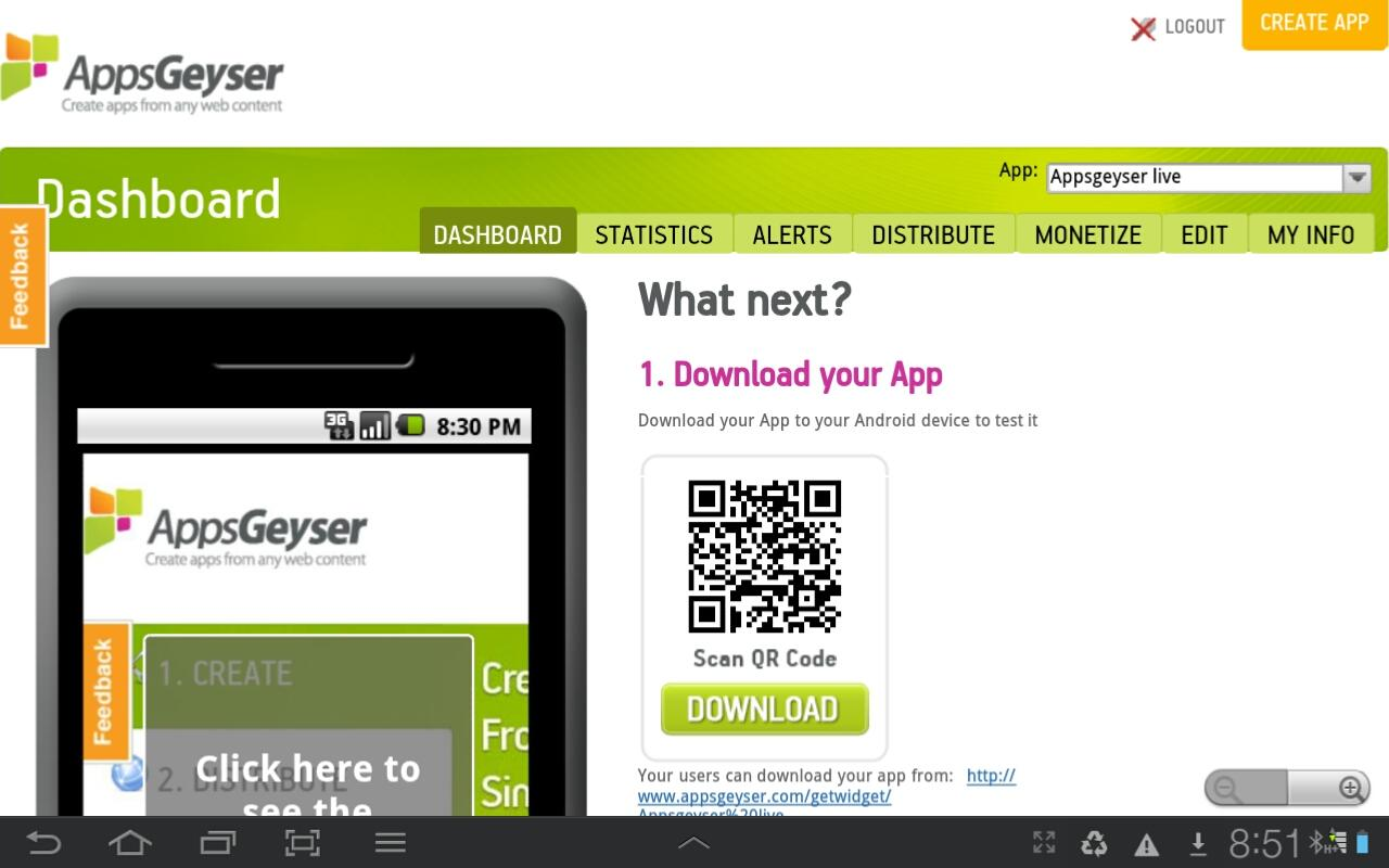 Appsgeyser APK 0 1 Download - Free Libraries & Demo APK Download