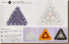crochet triangle twenty-eight