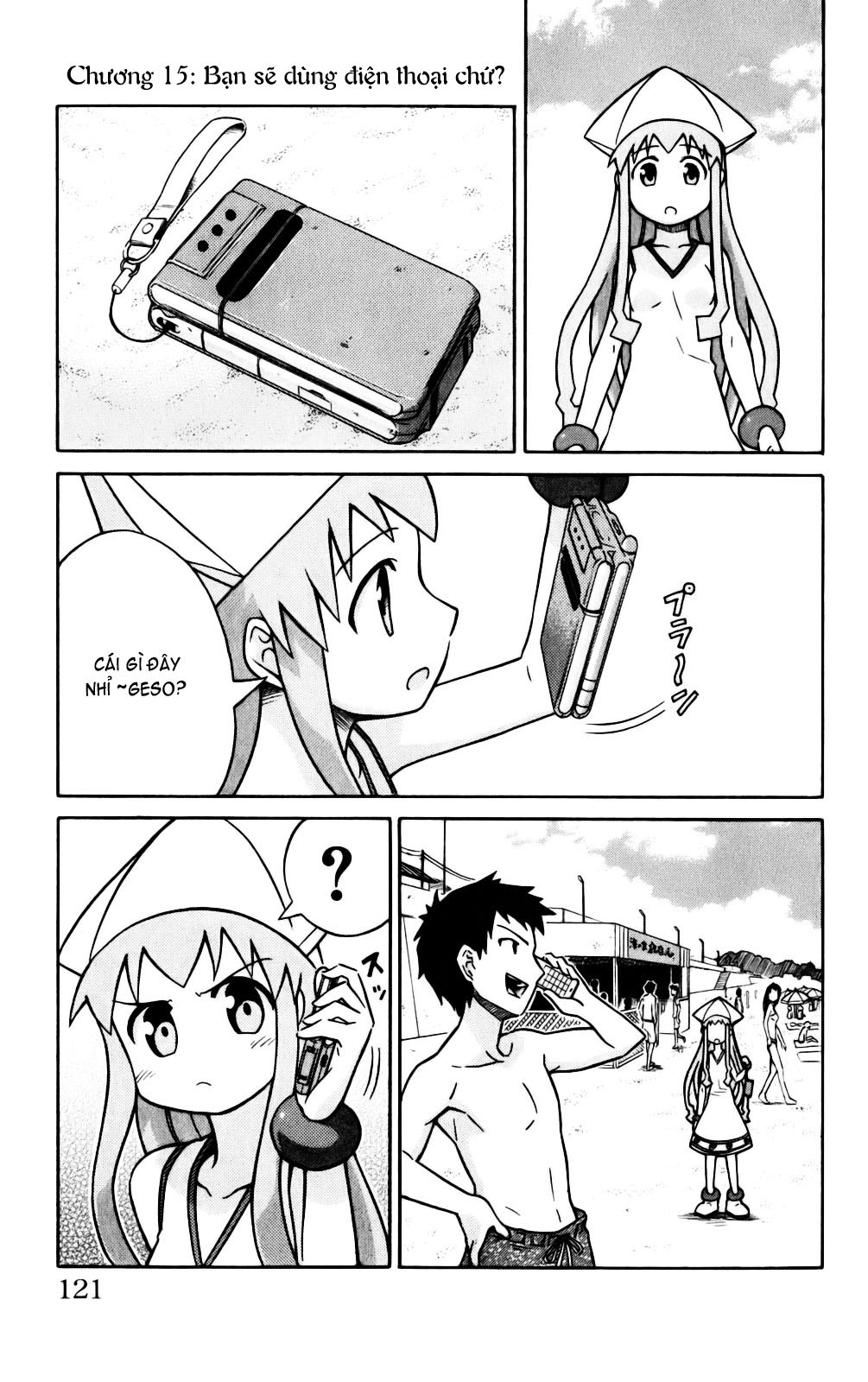Shinryaku! Ika Musume Chap 15 - Truyen.Chap.VN