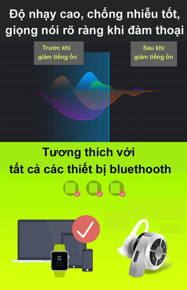 Tai nghe bluetooth mini Q6 Waniu