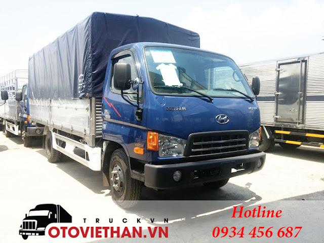 Bán xe tải 8 tấn Hyundai Mighty 2017 đô thành tại Hà Nội