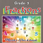 Grade-3-Maths-Fractions-WB icon
