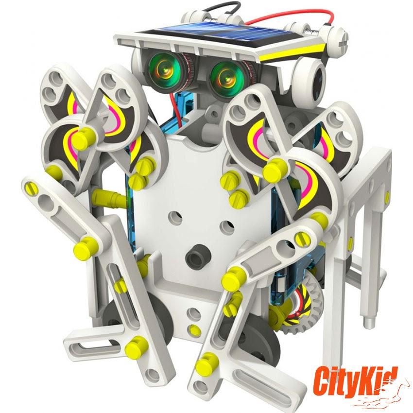 Solar robot năng lượng mặt trời 14 in 1