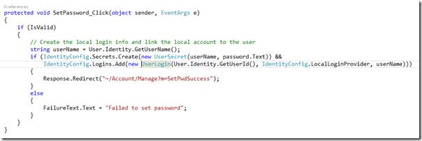 CodeWrittenVisualStudio2013