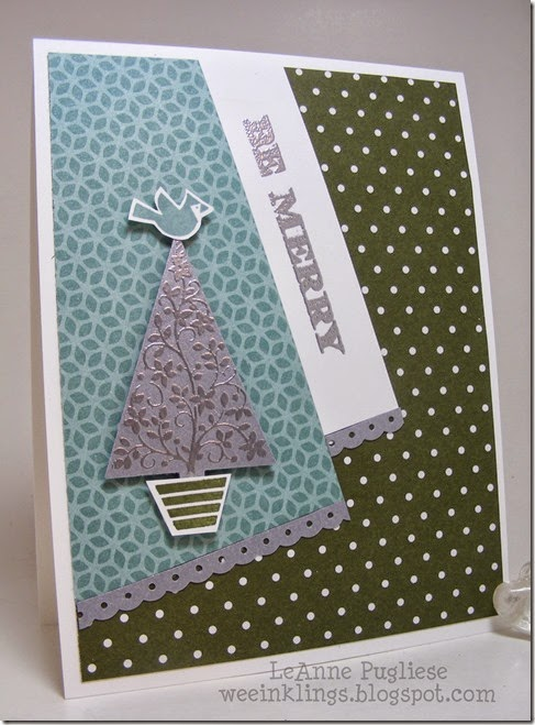 LeAnne Pugliese WeeInklings Festival of Trees Holiday Cheer Christmas Stampin UP