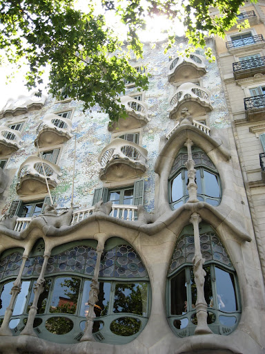 Casa Batilo (another by Gaudi)