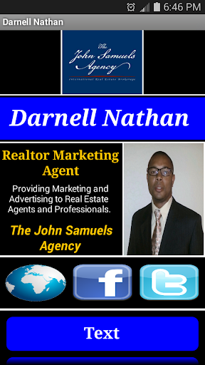 Darnell Nathan - Business Card