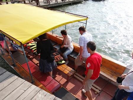 Imbarcare pe Dunare