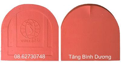 Mẫu ngói mũi hài Vina Gốm (Hoàng Tiến, Chí Linh Hải Dương)