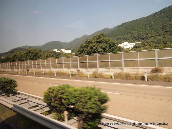 高速公路途中