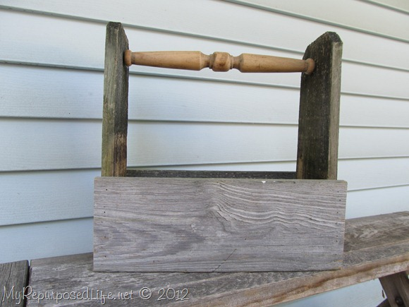 Rustic Tool Caddy