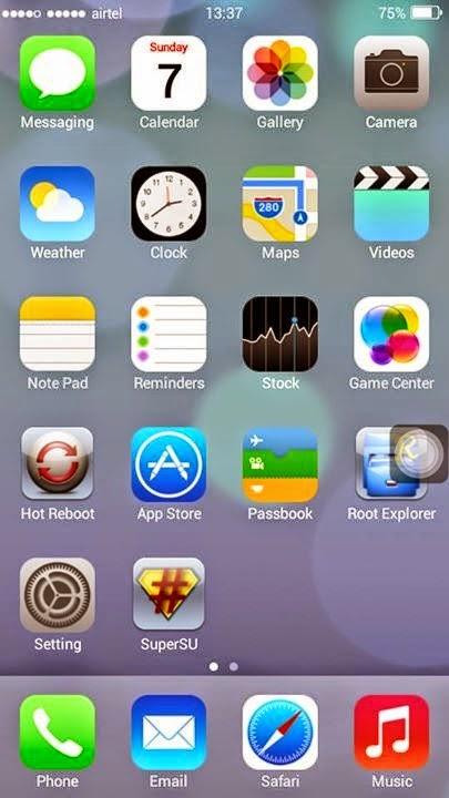 ROM] iOS Custom Rom For MT6572 ANDROID 4 4 4 ~ MEDIATEK