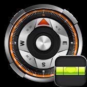 Safari Compass & Bubble Level