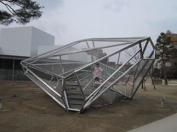 Obiective turistice Japonia: muzeul Kanazawa.JPG