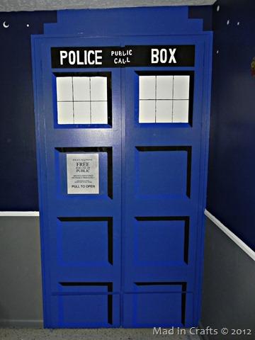 DIY TARDIS closet doors
