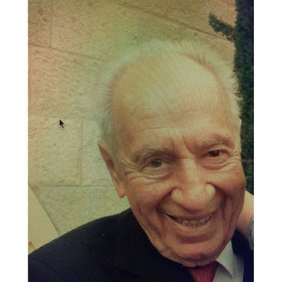 Morality is the wisest policy Shimon Peres was one of the worlds