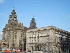 The Royal Liver Building & the Cunard Building