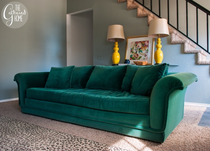Sofa With One Long Seat Cushion Sofa Review