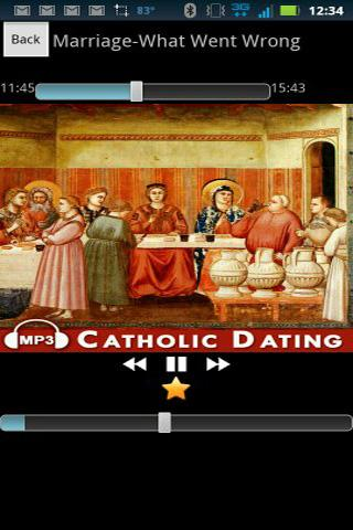 Dating as a catholic adult