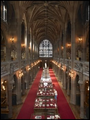 John Rylands Library, Manchester, Angleterre