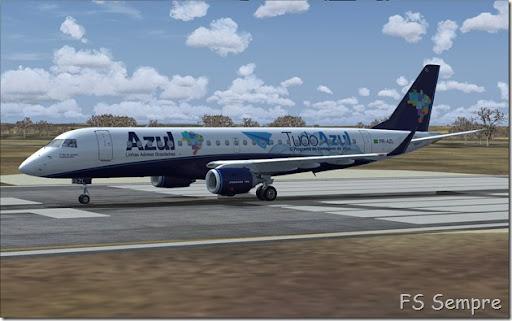 aviao da azul para fs2004