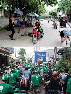 """""""Giải cứu thí sinh Hà Giang ngủ quên"""" & """"Sinh viên chạy Grab""""."""