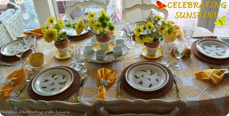 Sunshine Tablescape