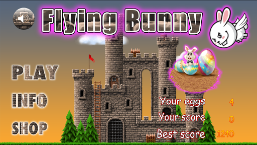 Flying Bunny Easter Egg Hunt