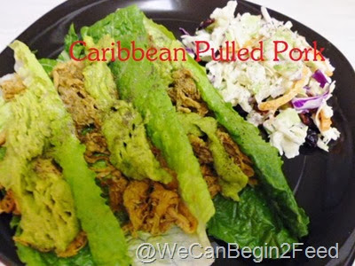 Caribbean Pulled Pork